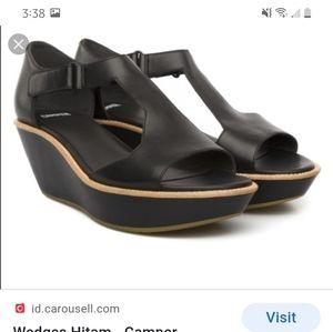 Camper wedge sandals
